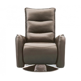 Relaxing grey recliner - MB R045 Fabric