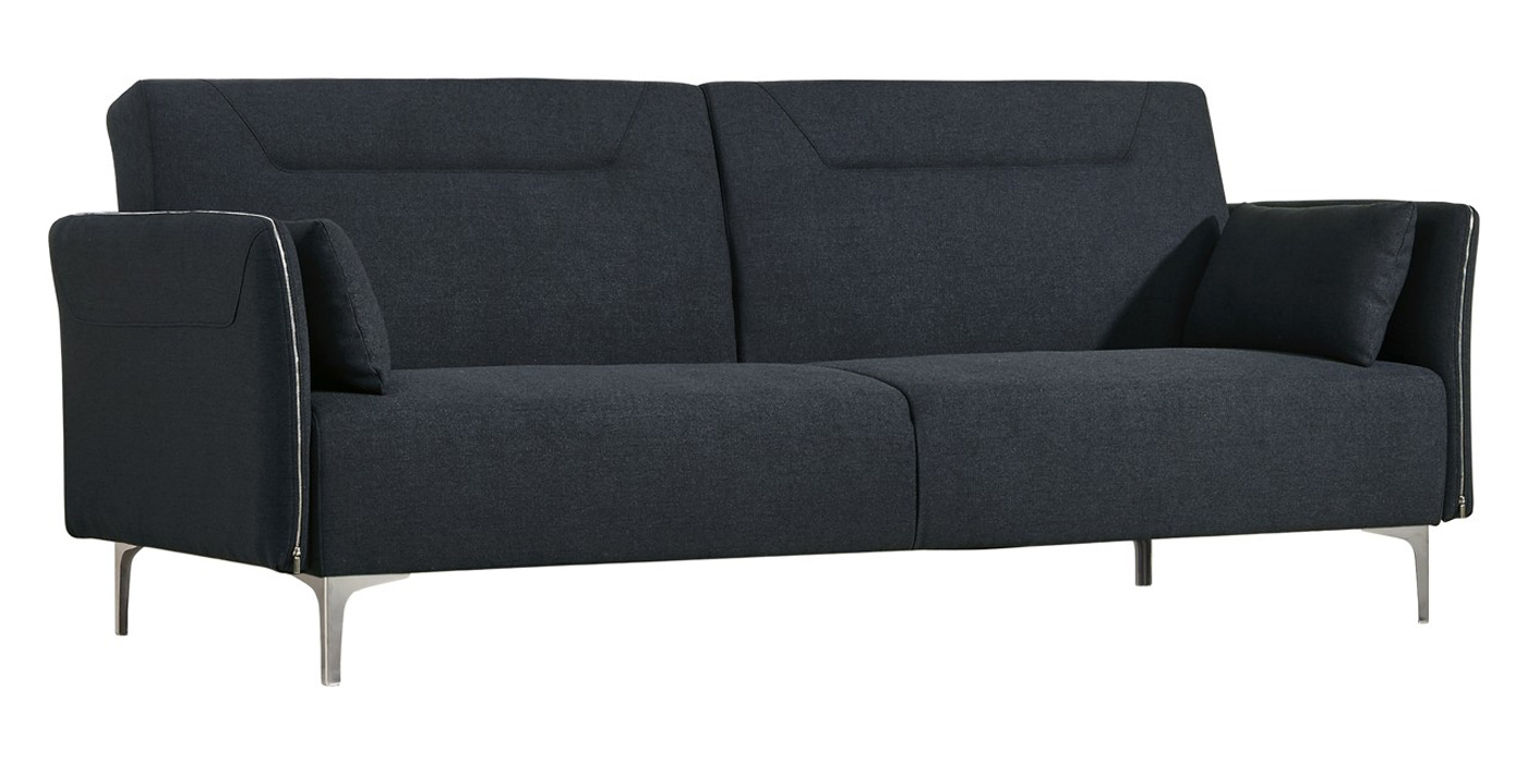 Modern dark grey sofa bed - MB 1365