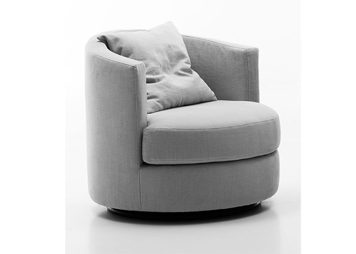 Swivel Armchair - OVAL