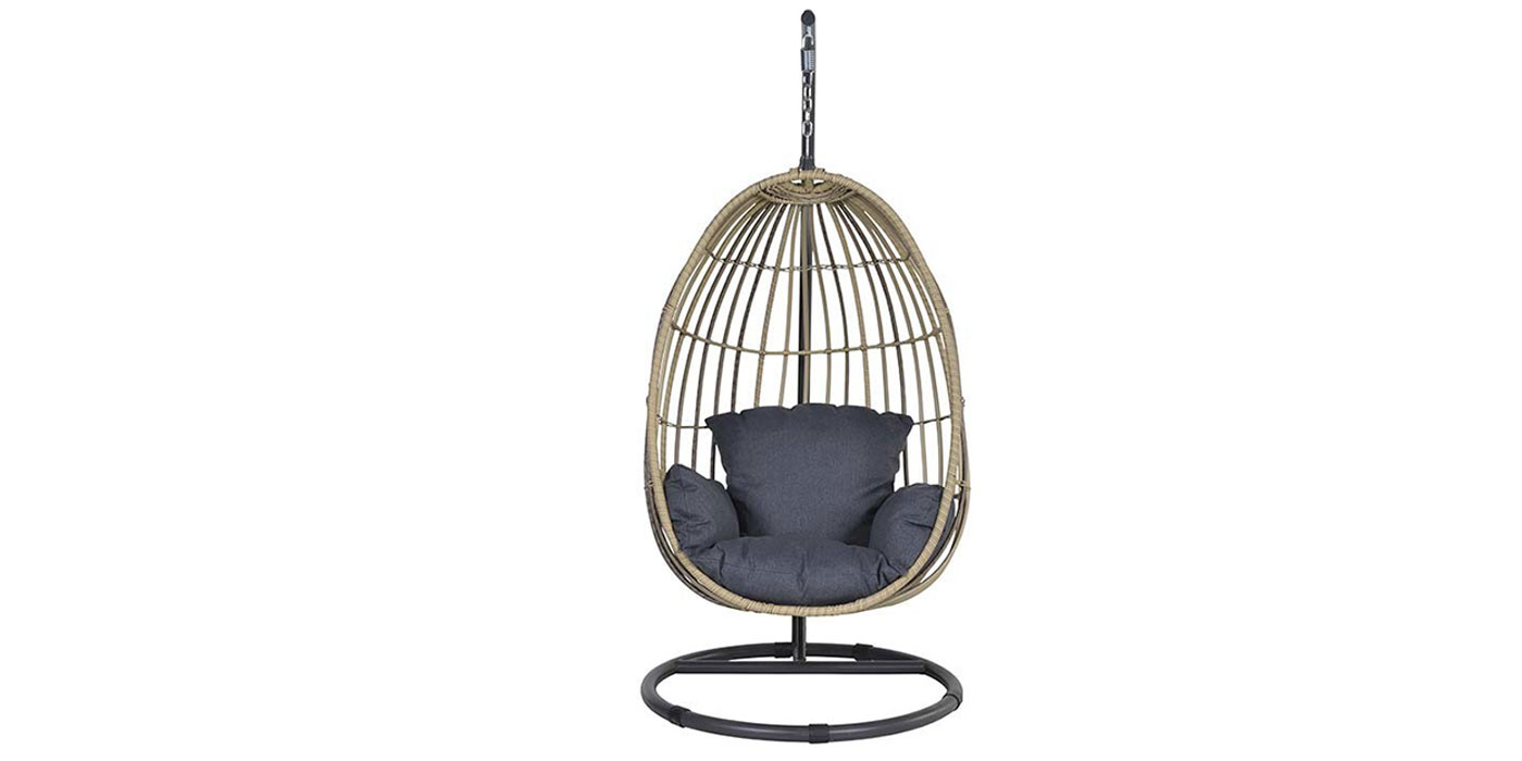 Resin outdoor hanging chair - PANAMA EGG