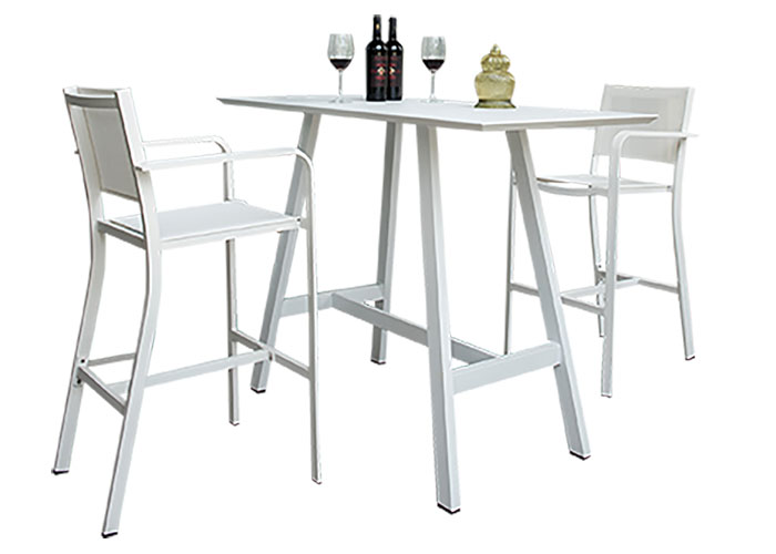Aluminum outdoor bar table - HM3325