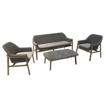 Aluminum modern outdoor Set- SHELDON