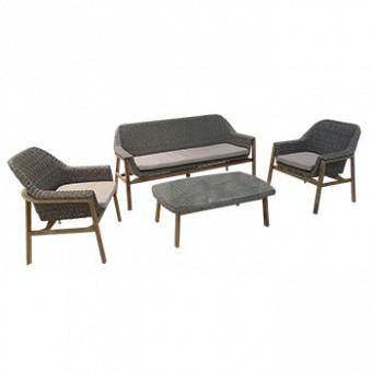 Aluminum modern outdoor Set- SHELDON