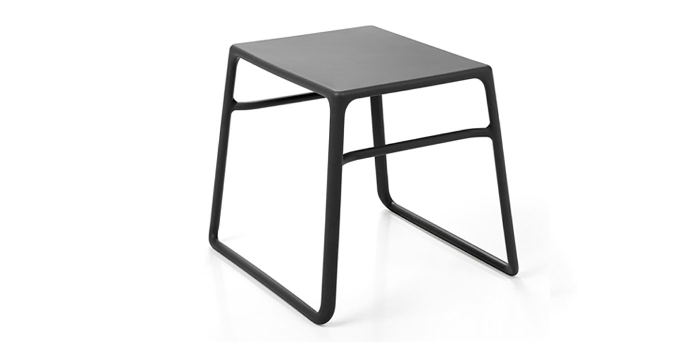 Resin outdoor side table - Pop