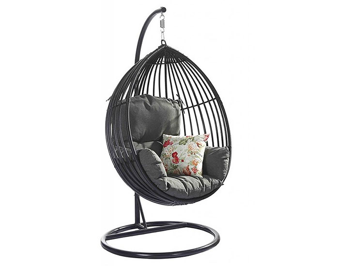 Resin outdoor hanging chair - GLV1275V D