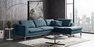 MODERN BLUE FABRIC SECTIONAL SOFA - MB-C005