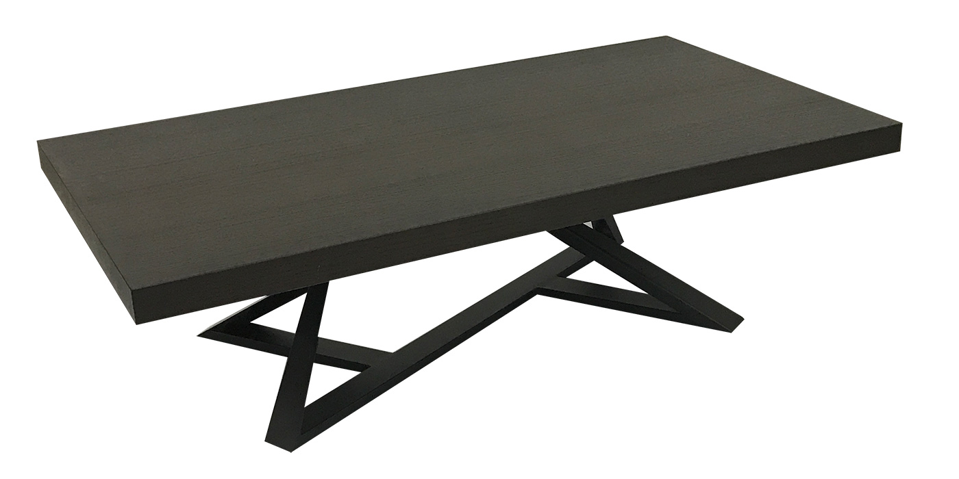 Wooden modern center coffee table - F1208 - 2AA