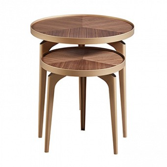 MODERN SIDE TABLE 2 PIECES - CT-6011BC