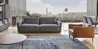 Calia Italia elegant sofa for living room - Duca