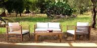 Wooden outdoor Set - NEW DELHI