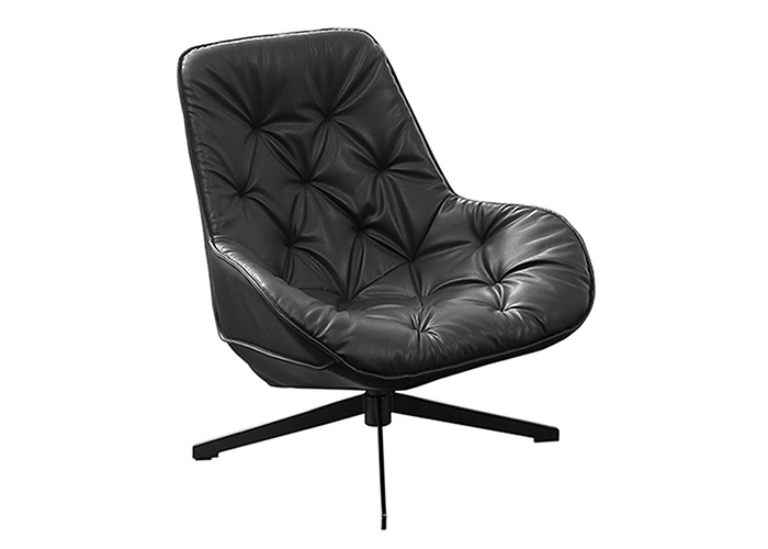 COMFORTABLE LEATHER ARMCHAIR - LC 030
